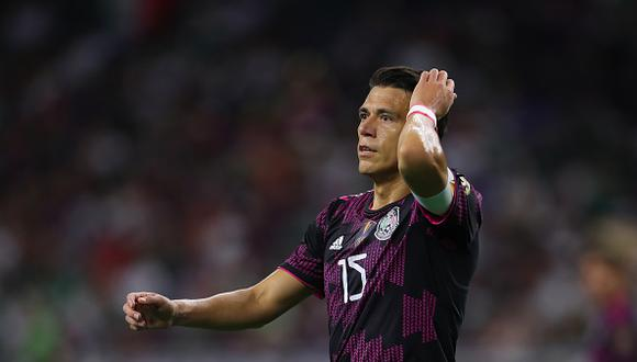 Héctor Moreno se lesionó con México durante su participación en la Copa Oro 2021 (Foto: Getty Images)