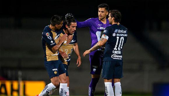 Pumas venció a Queretaro por la fecha 1 del Apertura 2020 Liga MX. (Foto: AFP)