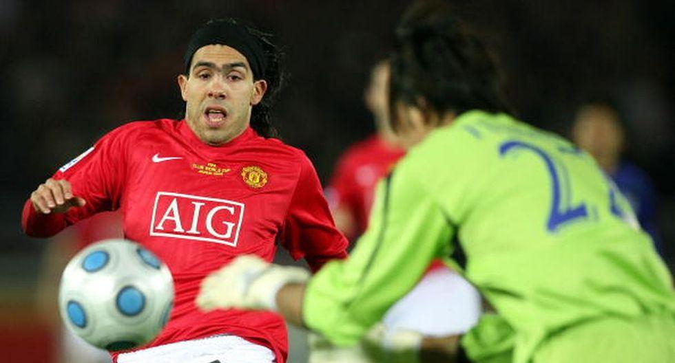 Tevez ganó la Champions con el United en el 2008. (Getty)