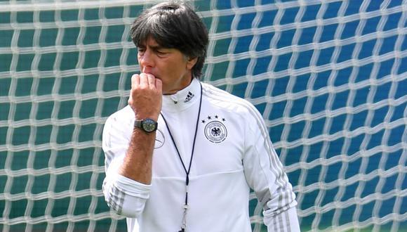 Joachim Low podría dejar de ser técnico de la Selección de Alemania. (Foto: Agencias)