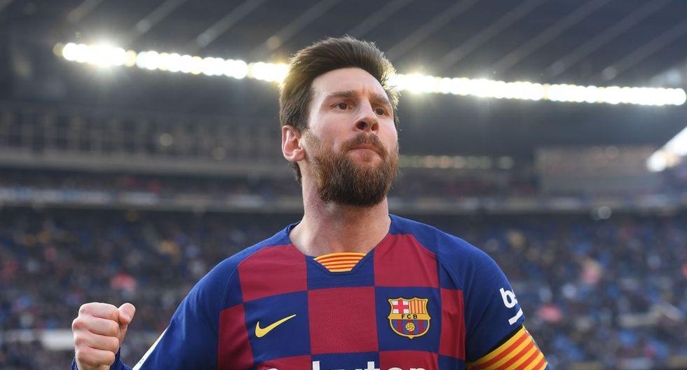 Lionel Messi tiene contrato con el Barcelona hasta 2021. (AFP)
