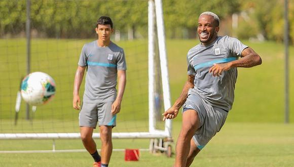 Farfán sumó nuevo entrenamiento con Alianza Lima. (Foto: prensa AL)