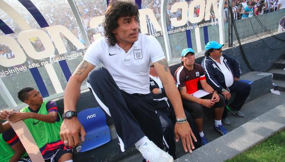 Francisco Pizarro comanda a los acreedores laborales de Alianza Lima . (Foto: Lino Chipana)