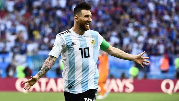 Lionel Messi llevará en su avión privado a los convocados argentinos que juegan en España para el inicio de las Eliminatorias. (Foto: AFP)