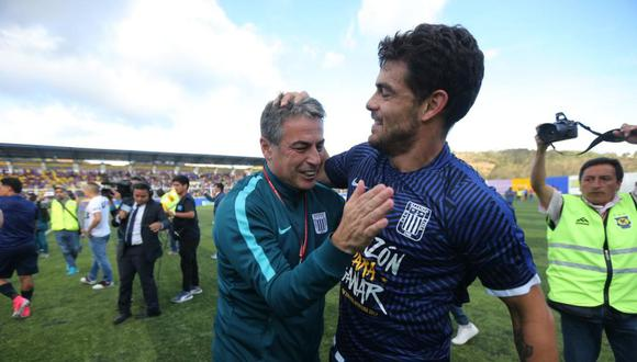 Luis Aguiar fue campeón con Alianza Lima en 2017. Pablo Bengoechea lo dirigió. (Foto: GEC)