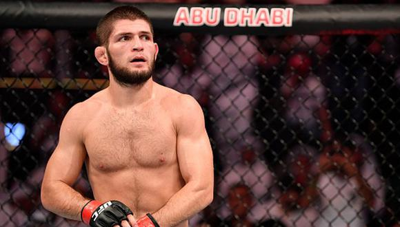 Khabib Nurmagomedov registra un récord de 28-0. (Getty Images)
