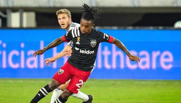 Yordy Reyna en el equipo ideal de la semana 22 de la MLS. (Foto: DC United)