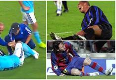 Así como Herrera: los otros goleadores en el mundo que se rompieron y tardaron meses en recuperarse [FOTOS]