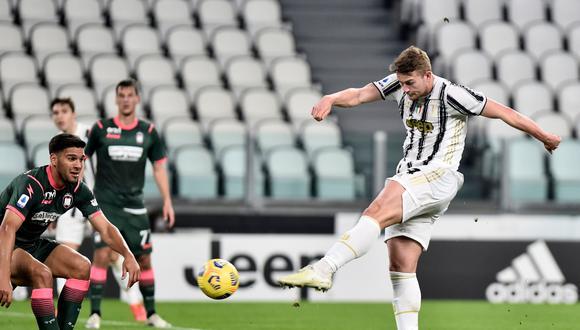 Matthijs De Ligt es uno de los futbolista que más destaca en la Juventus de la Serie A. (Foto: Getty)