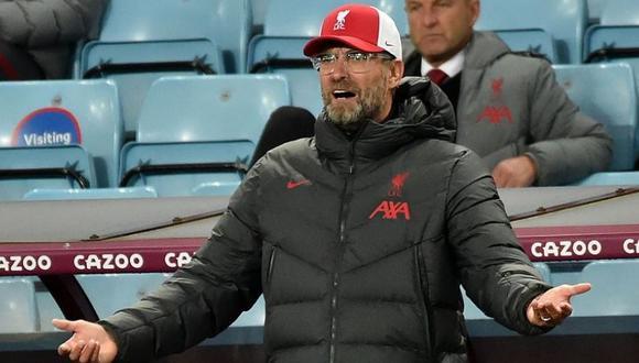 Jürgen Klopp busca reducir su plantel de jugadores. (Foto: AFP).