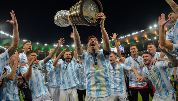 Lionel Messi ganó su primera Copa América tras vencer a Brasil en la final del Maracaná. (Foto: AFP)