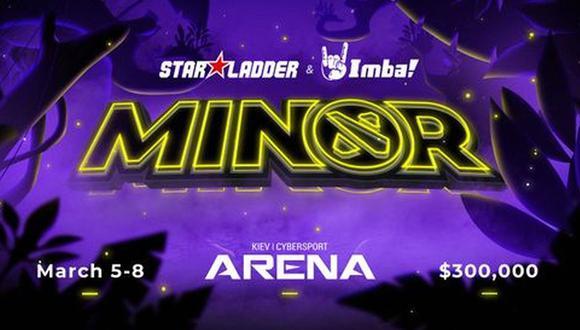 Dota 2: estos son los equipos que participarán en la Minor de Star Ladder.