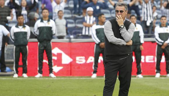 Bengoechea triste por el descenso de Alianza Lima. (Foto: GEC)