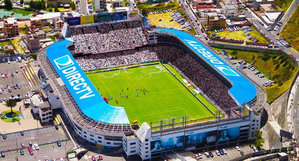 Estadio Rodrigo Paz Delgado (Quito - Ecuador): ubicado a 2,780 m.s.n.m. (Foto: Agencias)