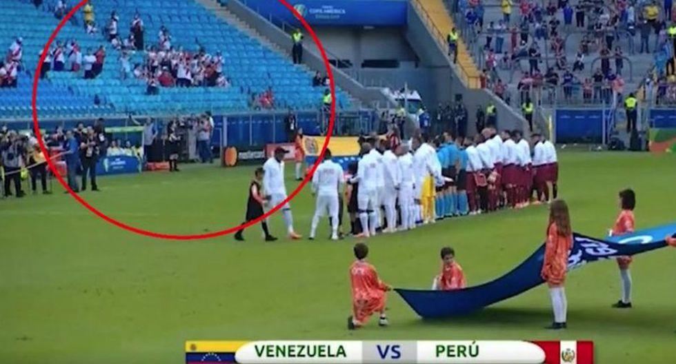 La Conmebol se mostró preocupada por la falta de público en el Perú-Venezuela. (Twitter)
