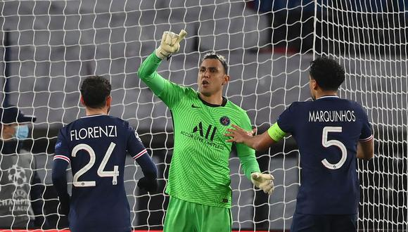 Keylor Navas renovó contrato con PSG. (Foto: AFP)