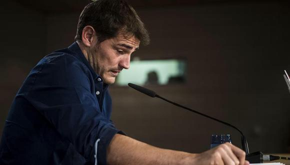 Iker Casillas se despidió entre lágrimas tras una etapa de 25 años en el Real Madrid. (Foto: Getty)