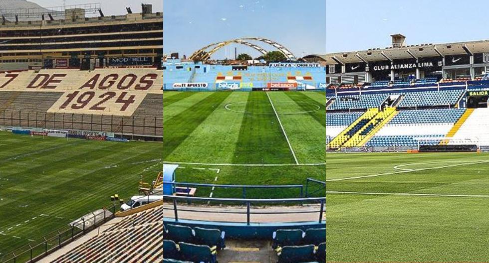 Los estadios en los que se jugará la Liga 1 (Foto: Liga de fútbol Profesional)