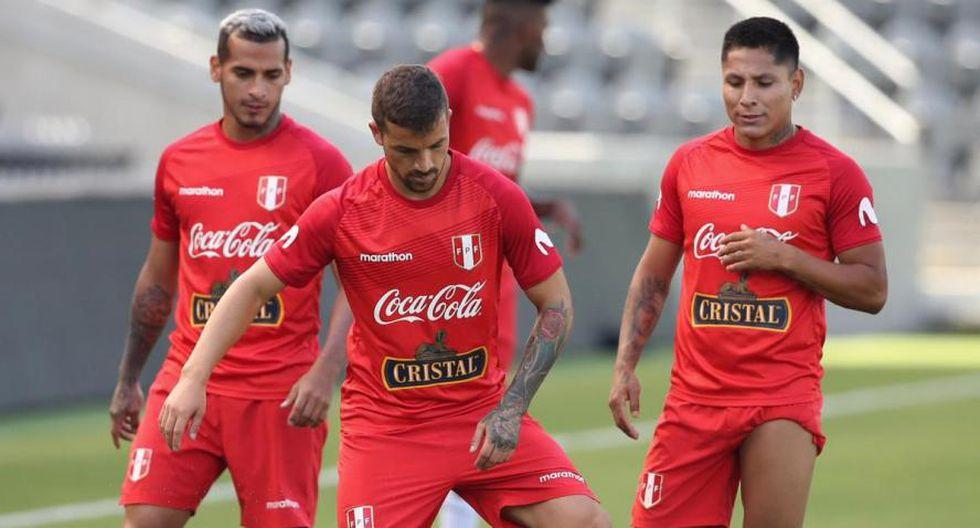 La Selección Peruana se pone a punto para enfrentar a Brasil. (FPF)