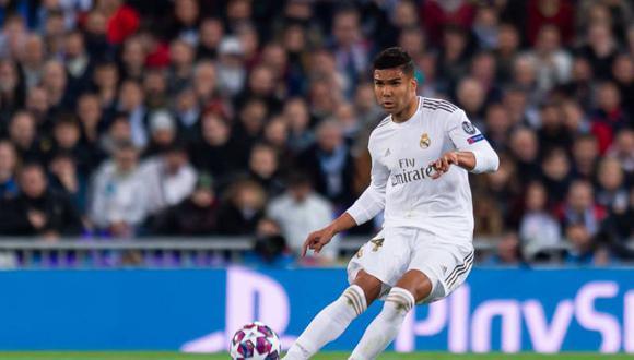 Casemiro ha estado presente en todos los partidos del Real Madrid esta temporada en la Champions League.