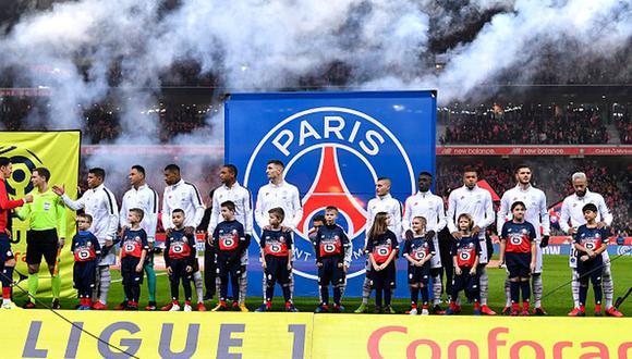 Mbappé llegó al PSG en 2017 desde el AS Mónaco. (Getty)