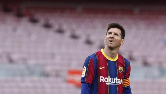 Lionel Messi viajó a Argentina conociendo la oferta de Barcelona. (Foto: Reuters)