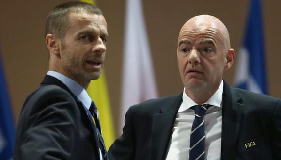 La FIFA y UEFA anunciaron que tomarán medidas con los clubes fundadores de la Superliga Europea. (Foto: EFE)