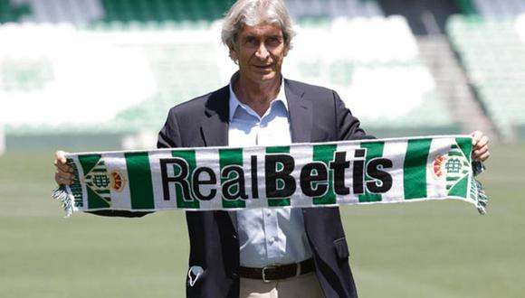 Pellegrini sueña con hacer un Betis competitivo. (Foto:Agencias)
