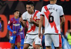 Con gol de Radamel Falcao: Rayo le da otro golpe (1-0) al Barcelona de Koeman