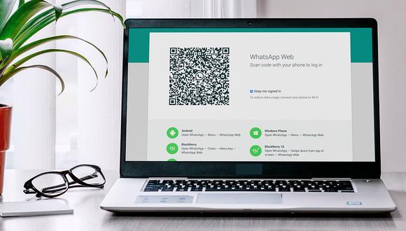 Un truco que funciona al 100 %. Entérate cómo iniciar sesión en WhatsApp Web sin necesidad de escanear tu código QR. (Foto: WhatsApp)