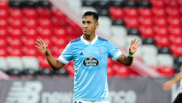Renato Tapia no fue convocado por acumulación de tarjetas amarillas. (Foto: @RCCelta)