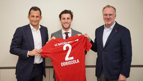 Álvaro Odriozola llegó al Bayern Munich a inicios de año. (Foto: Twitter FCB)