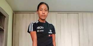 Inés Melchor cuenta como entrena en casa para mantenerse activa