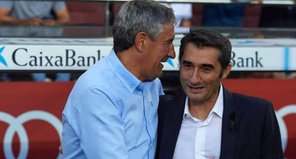 Ernesto Valverde se fue del FC Barcelona luego de dos temporadas y media. (Difusión)