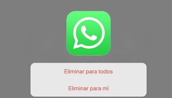 Así puedes eliminar un mensaje incluso luego de ser visto en WhatsApp. (Foto: Depor)