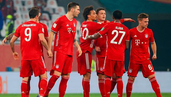 Con gol de Pavard, Bayern Munich gana 1-0 a Tigres y está consiguiendo el sexteto en una temporada. (Foto: AFP)
