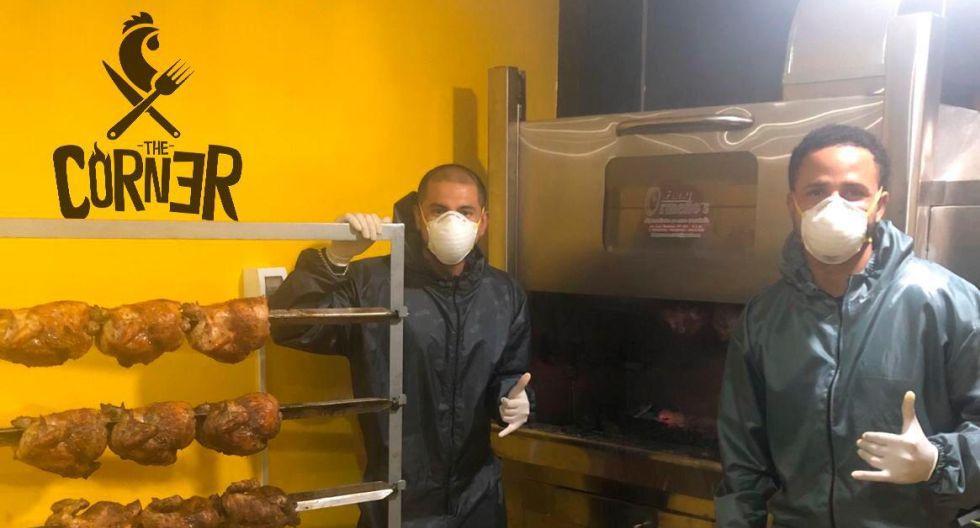 Lleve su rico pollo a la brasa: los futbolistas con su negocio de venta delivery