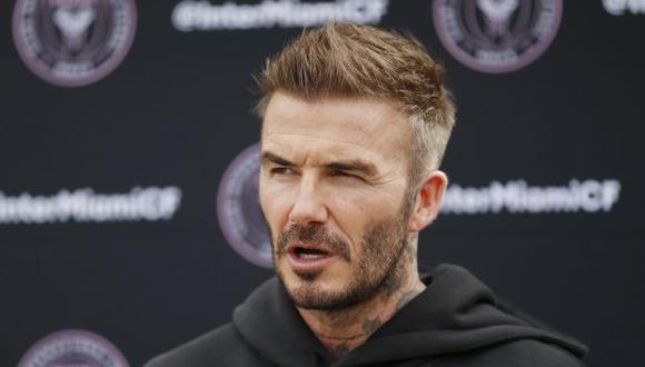David Beckham es uno de los propietarios del Inter Miami. (Foto: AFP)