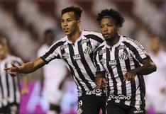 Santos derrotó por 2-1 a LDU de Quito por los octavos de final de la Copa Libertadores 2020