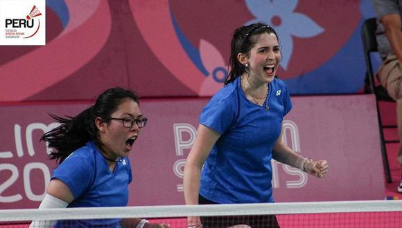Daniela Macías y Danica Nishimura nos representaron en los Juegos Panamericanos Lima 2019. (Foto: Bádminton Perú)