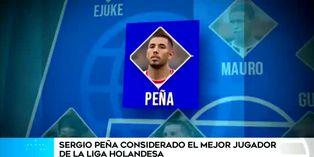 Sergio Peña deslumbra en el fútbol tulipán