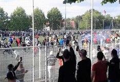 Indignante: casi 400 personas asistieron a un partido ilegal en Estrasburgo en plena pandemia por el COVID-19 [VIDEO]