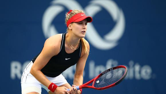 Eugénie Bouchard es la actual 332 del ránking WTA. (Foto: Getty Images)