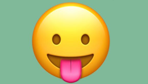 ¿Sabes realmente lo que significa el emoji de la carita con la lengua afuera en WhatsApp? (Foto: Emojipedia)