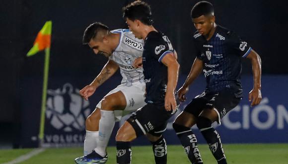Independiente del Valle venció a Gremio por la Fase 3 de Copa Libertadores. (Foto: Twitter Del Valle)