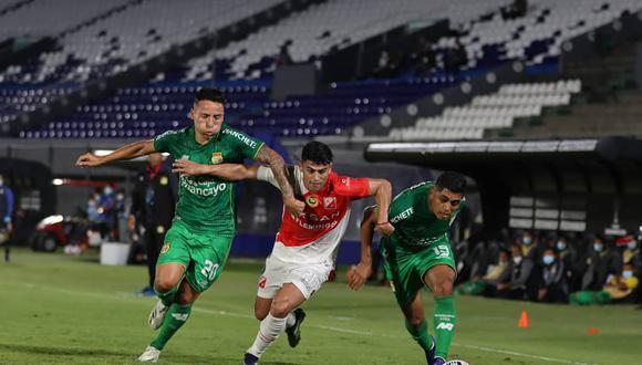 Sport Huancayo sumó su cuarta derrota consecutiva en Asunción (Foto:River Plate)