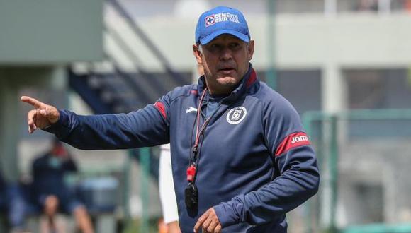 Juan Reynoso hizo clasificar a Cruz Azul a la liguilla final como líder. (Foto: Cruz Azul)