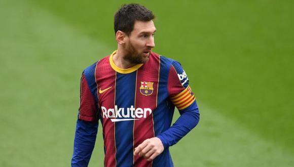 Lionel Messi decretó el 1-0 en el Barcelona-Cádiz por LaLiga. (Foto: AFP)