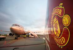 Una cosa de locos: el Manchester United tomó un avión para viajar en diez minutos a Leicester