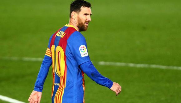 Lionel Messi tiene contrato con el Barcelona hasta mediados de año. (Foto: Reuters)